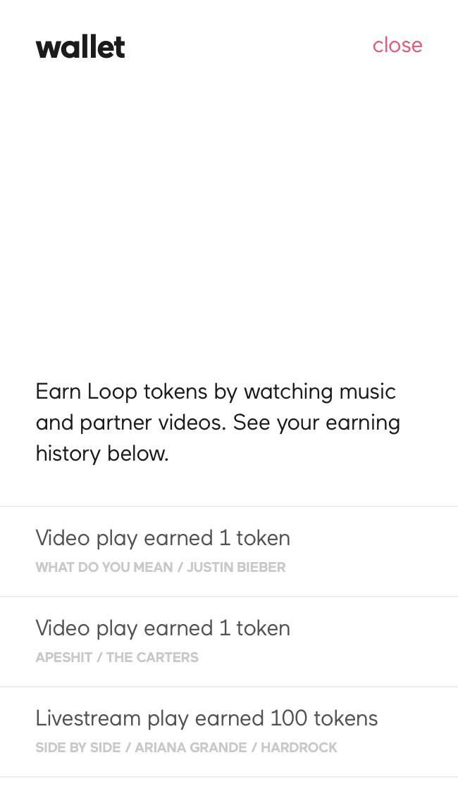 Loop Music Wallet