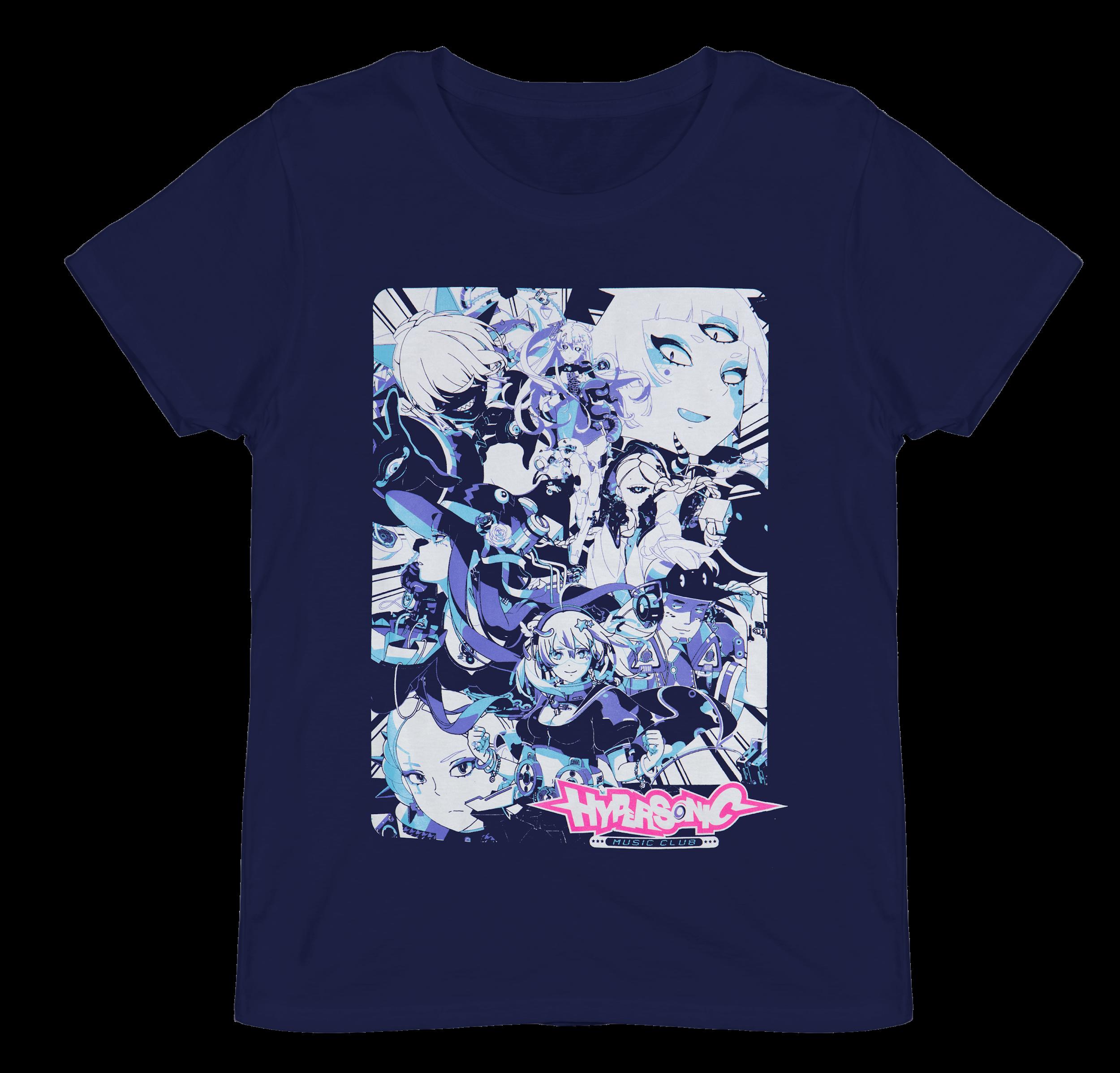 Hyper Sonic Club Music T Shirt | Loot Crate