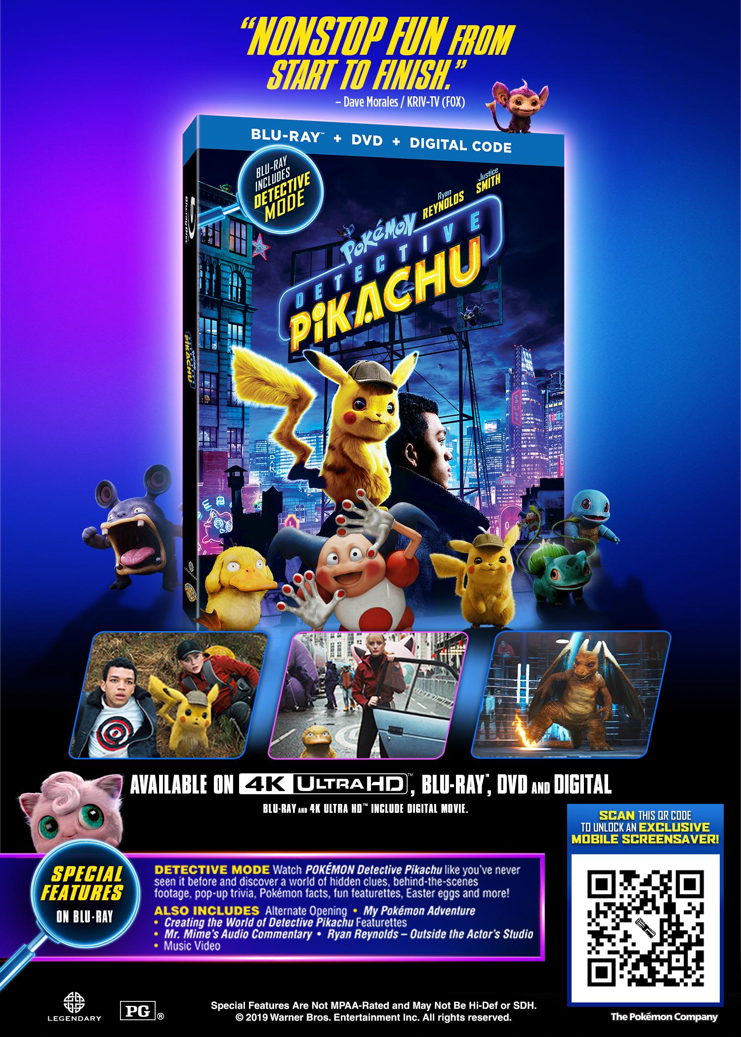 Detective Pikachu Insert | Loot Crate