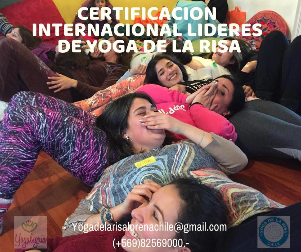 Certificación Internacional Lideres de Yoga de la Risa