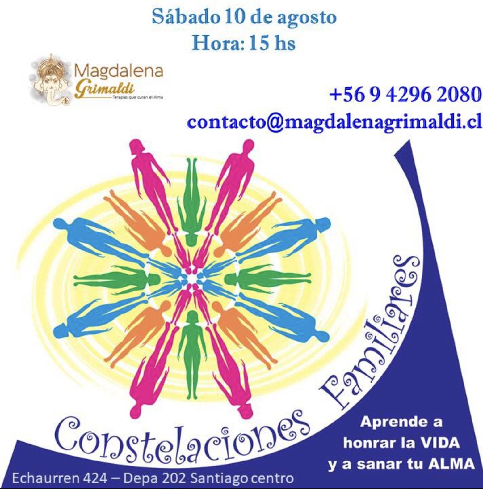 Sesión Grupal de Constelaciones Familiares