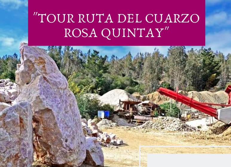 Tour Ruta del Cuarzo Rosa- PLAYA Quintay