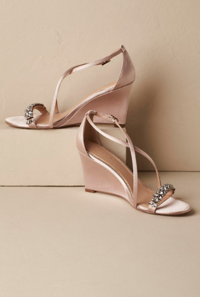 nude wedding shoes, bhldn wedding wedding shoes