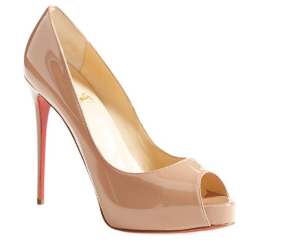 nude wedding shoes, pumps, christian louboutin