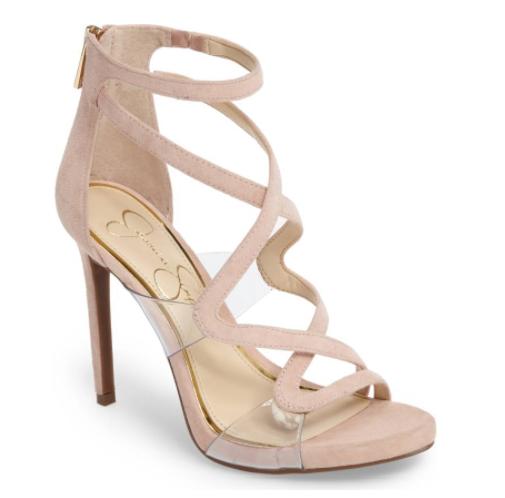 nude wedding shoes, Jessica simpson wedding shoes
