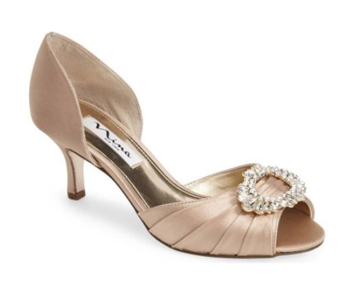 nude wedding shoes, nina wedding shoes