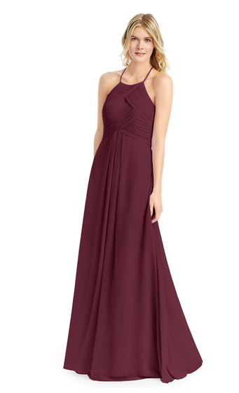 fall bridesmaid dresses, maroon bridesmaid dress