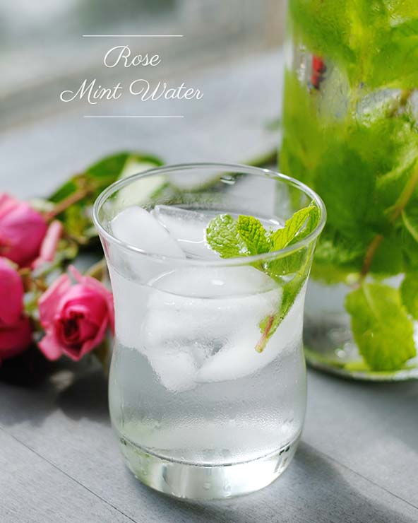 naturally flavored water recipes