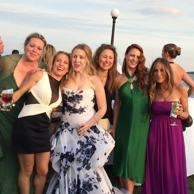 Sarah Jessica Parker Was a Bridesmaid This Weekend!