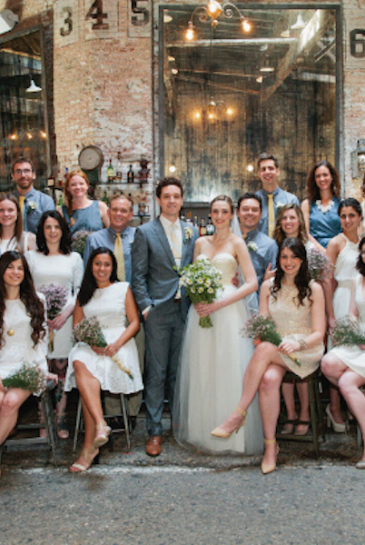 How To Pull Off A Mixed Gender Bridal Party Like A Champ