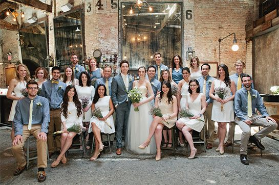 Mixed-Gender Bridal Party