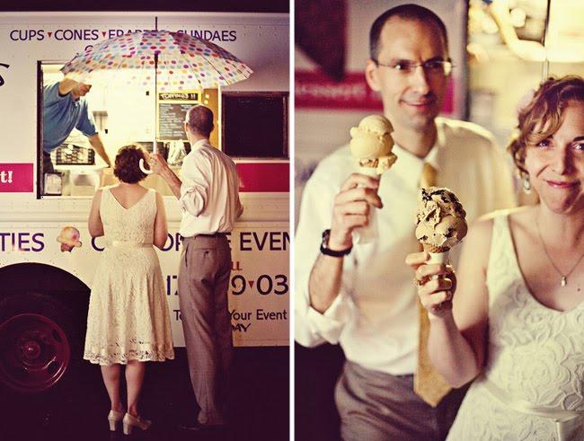 summer wedding essentials, ice cream truck