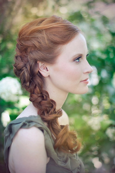 Side-Braid-Wedding-Hair | Loverly | The Ultimate Wedding Planning ...