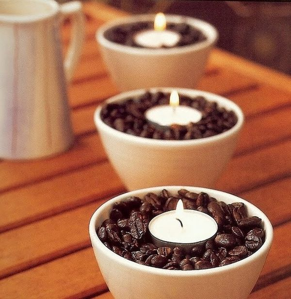 coffee scented candle, wedding day coffee