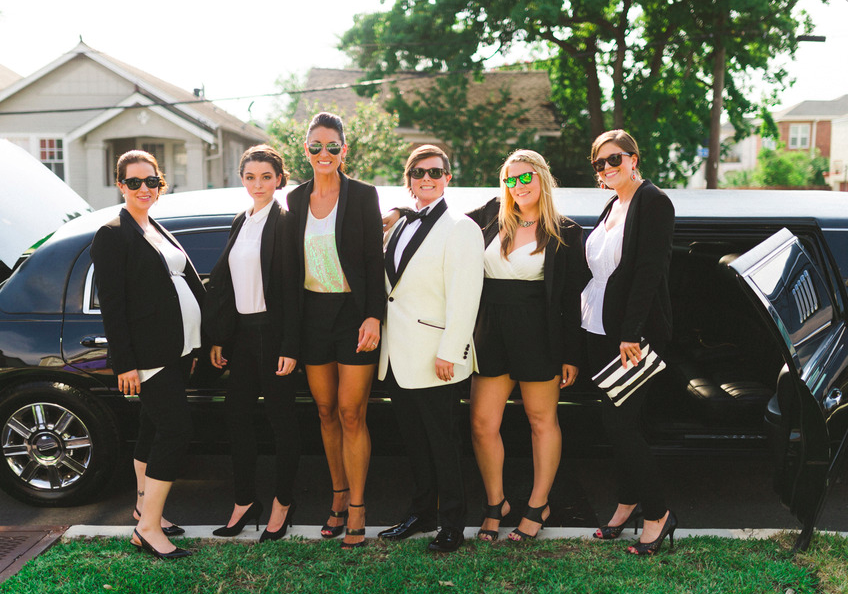 Alternative Bridal Party Outfits