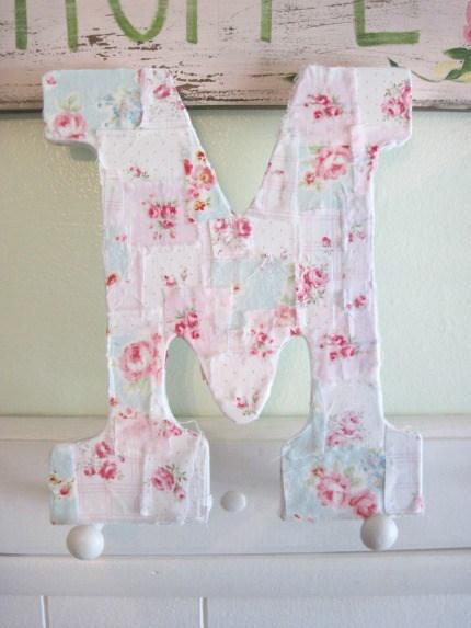 Love Letter M Tutorial By Elyse Major Via Weddings Craftgossip Com