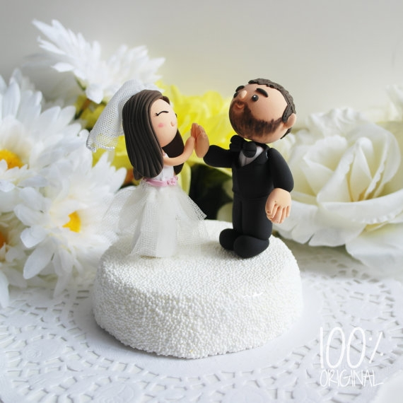wedding cake toppers high five 18 outrageous cake flavors we re dying to try loverly 26493