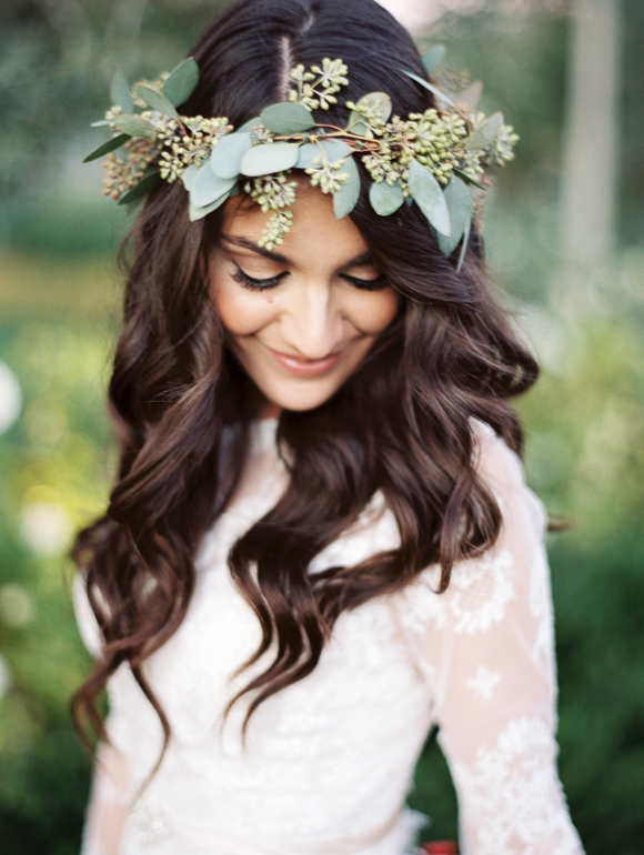 bridesmaid hair ideas, boho hairstyles