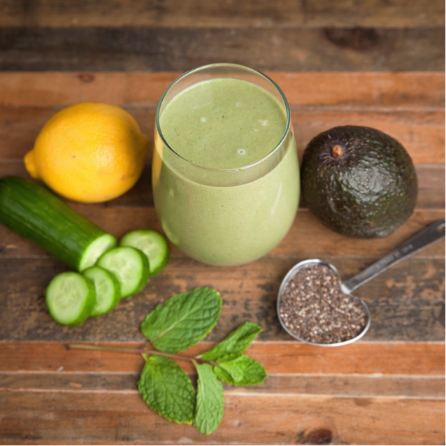 Get Aisle-Worthy Glowing Skin With a #BeWellSmoothie