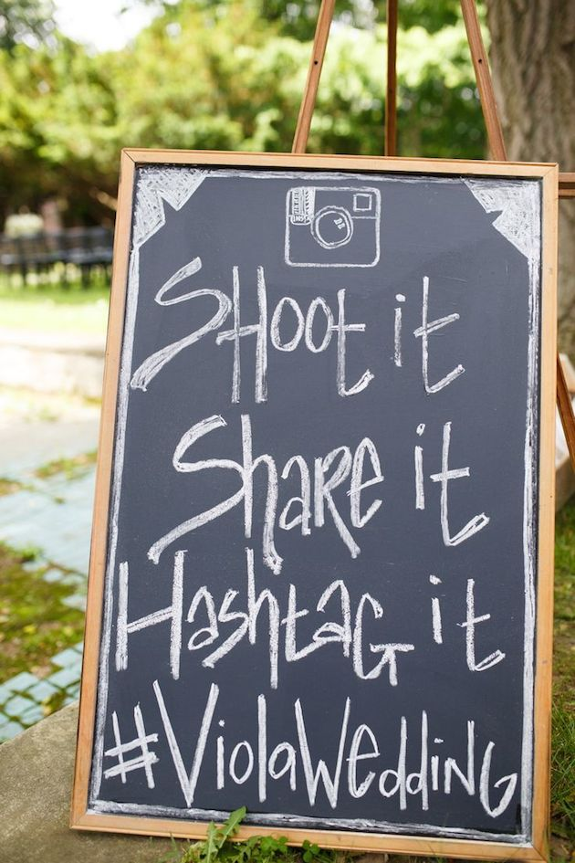 7 Things To Consider Before Locking In Your Wedding Hashtag