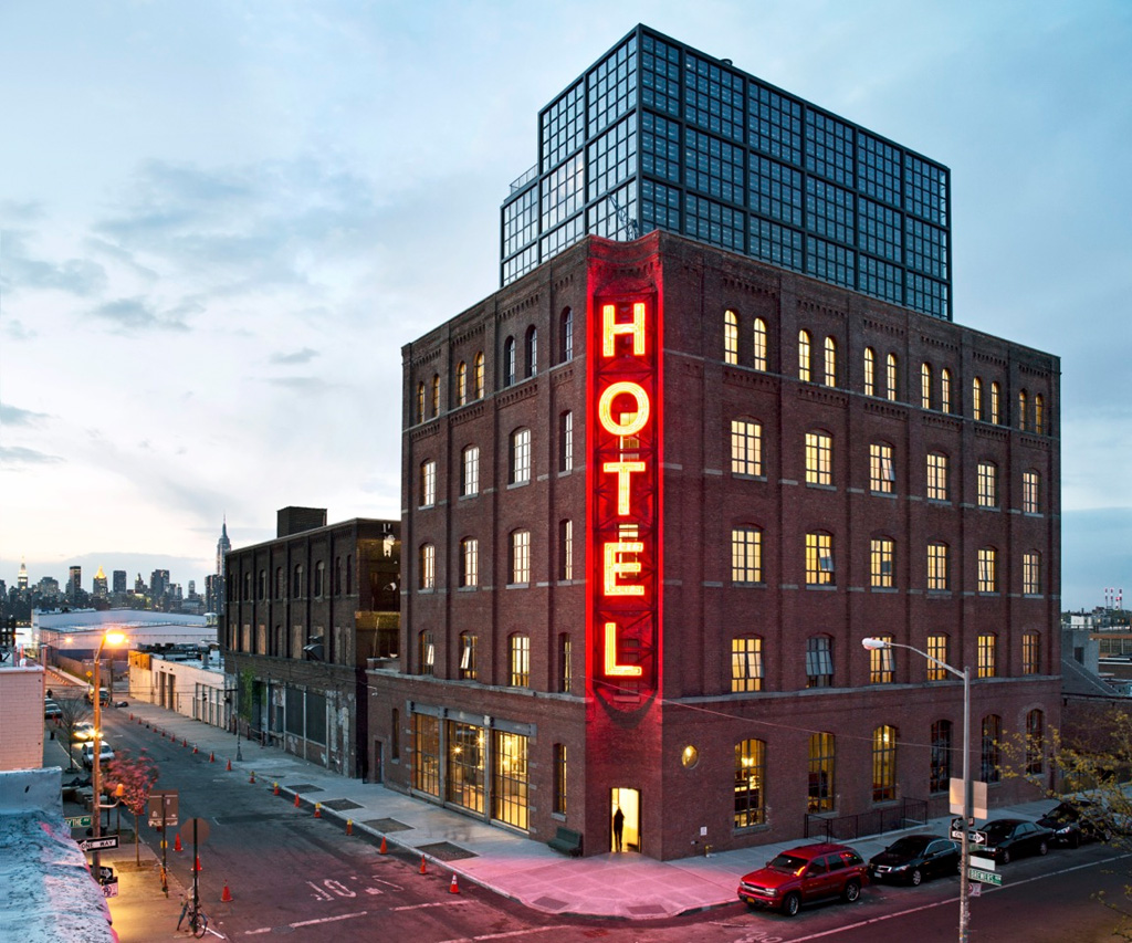 Wythe Hotel Brooklyn, Best New York City Bachelorette