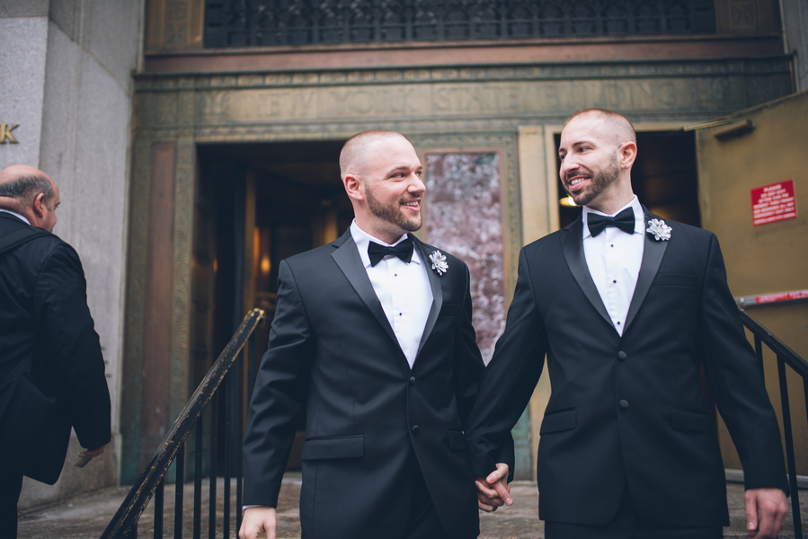9 Sweet Same-Sex City Hall Weddings That Give Us All the Feels
