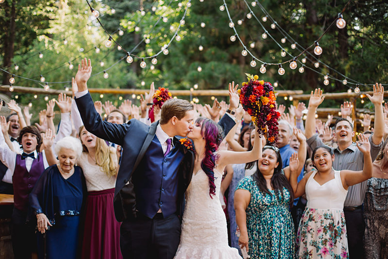 The Story Behind This Colorful Wedding is Like a Real Life Rom-Com