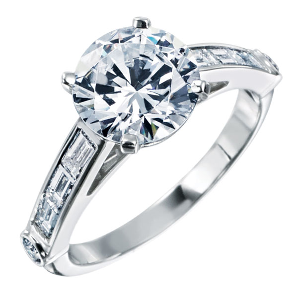 GUmchin engagement ring, modern engagement ring designs