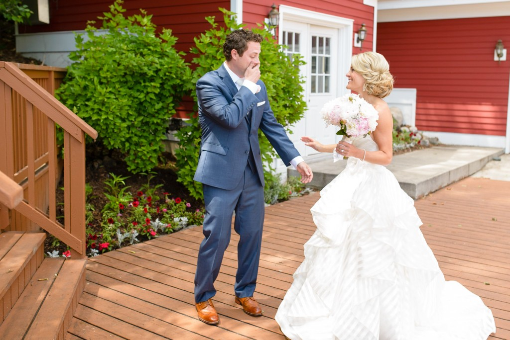 "meganandmattThis Bride's Favorite Color is ""Glitter"" So You Know Her Glam Barn Wedding Was Everything"