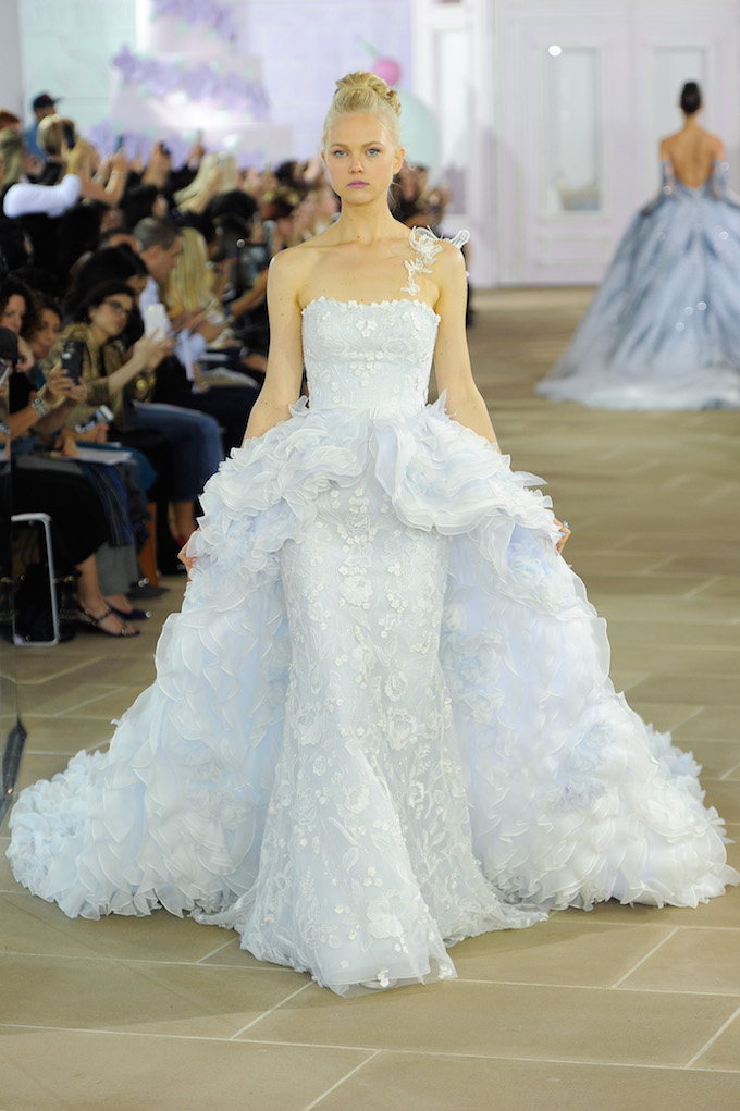 InesdiSanto;This Season's Bridal Fashion Week Schooled Us On How to Rock Wedding Day Ruffles