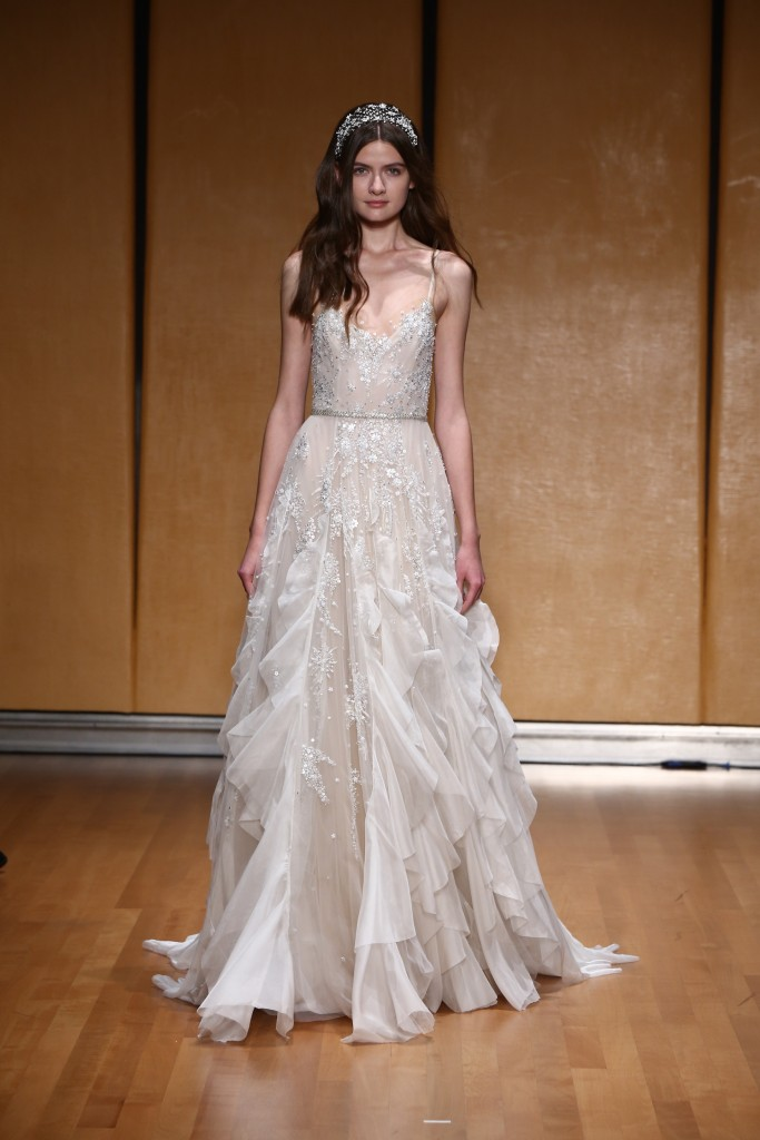 This Season's Bridal Fashion Week Schooled Us On How to Rock Wedding Day Ruffles