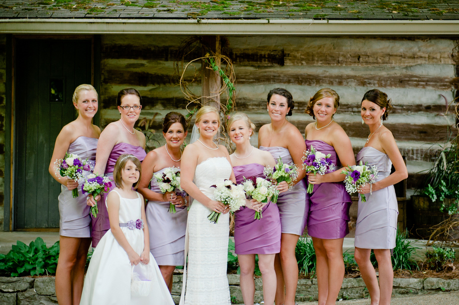 Purple Rustic Tennessee Wedding Loverly