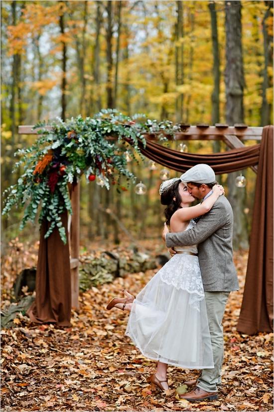 42eaa68ed3e Woodland Armada Wedding Captured by Amanda Dumouchelle – Loverly