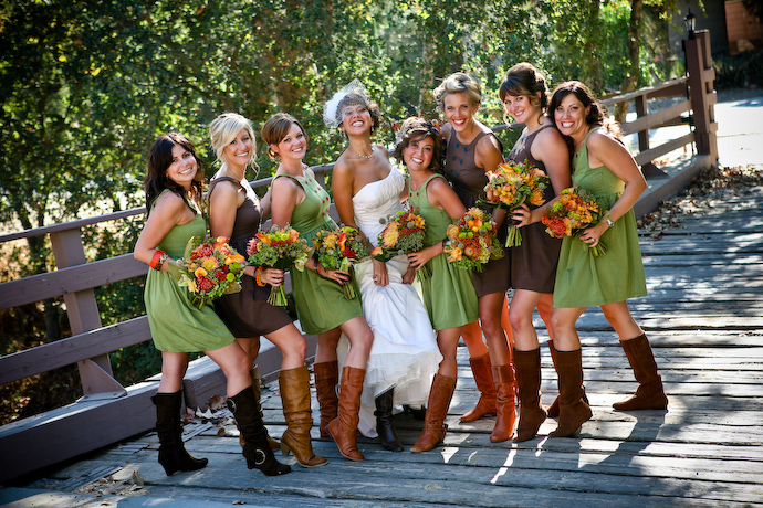 Mismatched Bridesmaids Loverly