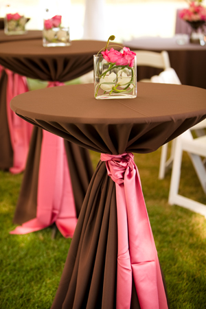 chocolate and pink wedding | Invitationjdi.co