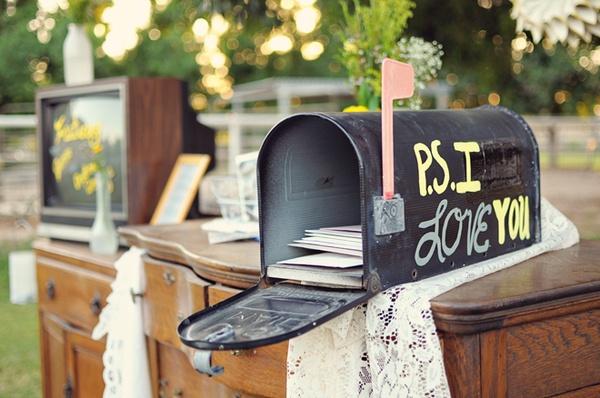 Wedding Mailbox Guestbook Alternative BUY or DIY \u2013 Loverly