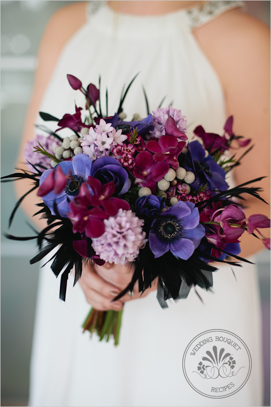 Purple and Lavender Wedding Bouquet – Loverly