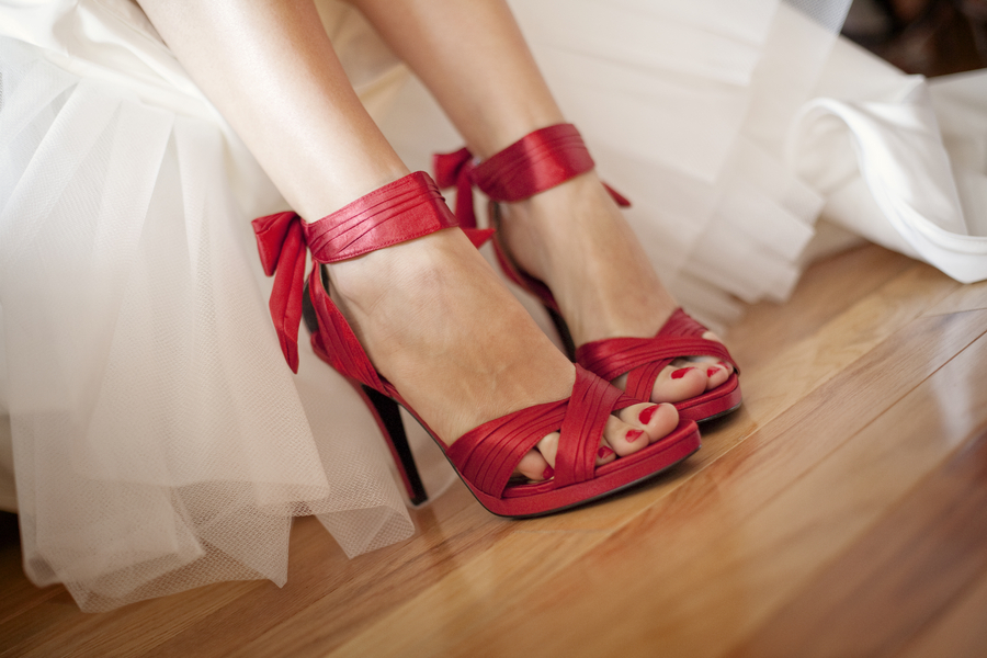 adb2e8e28107 Modern Red Rooftop Wedding – Loverly