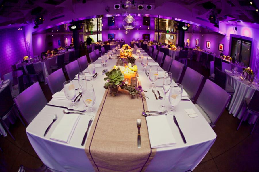 Modern Purple And Green California Wedding Loverly Wedding