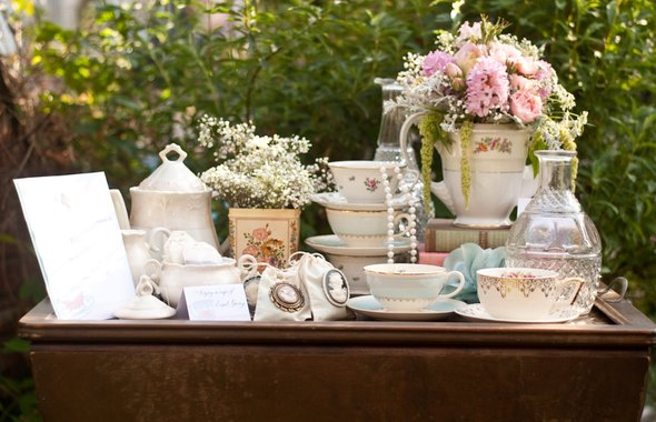 Tea Party Bridal Shower Loverly