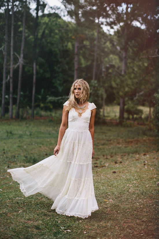 523da191aa6 Grace Loves Lace Deep Forest Bridal Inspiration – Loverly