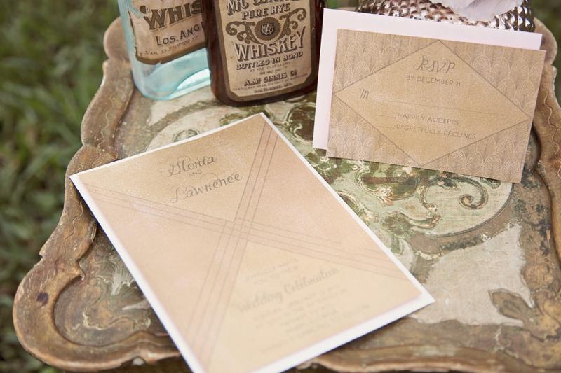 1920s Vintage Glam Wedding Inspiration Loverly
