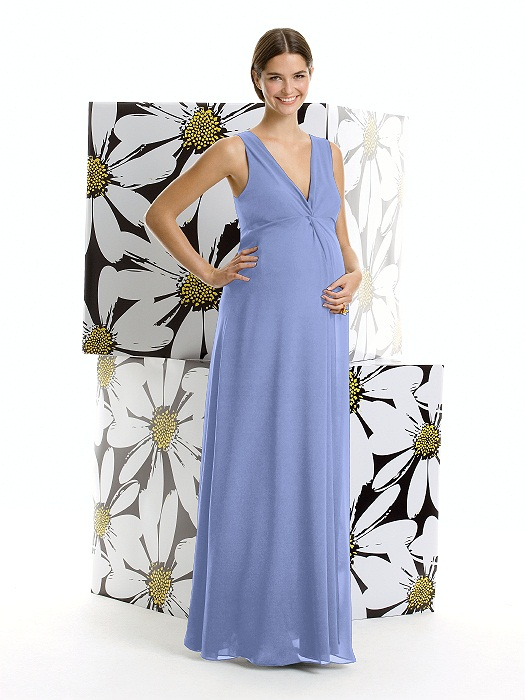 d57717c57 Alfred Sung Maternity Dress Style M406 in lavender – Loverly