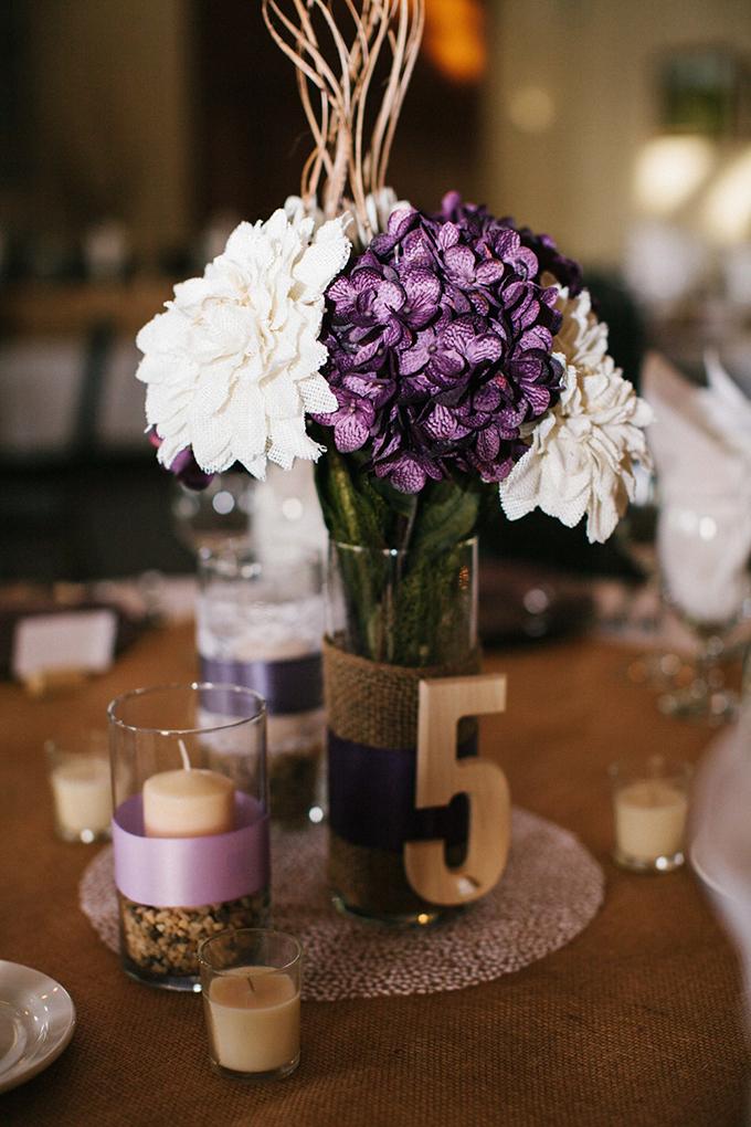 Rustic Purple Vineyard Wedding – Loverly