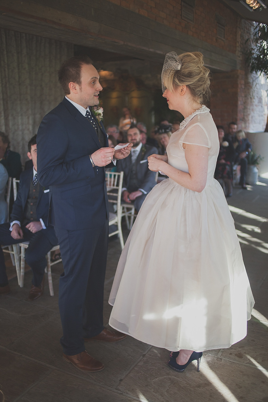 Peter Pan Collar Wedding Dress