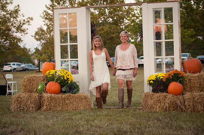 Intimate Rustic Fall Wedding Loverly