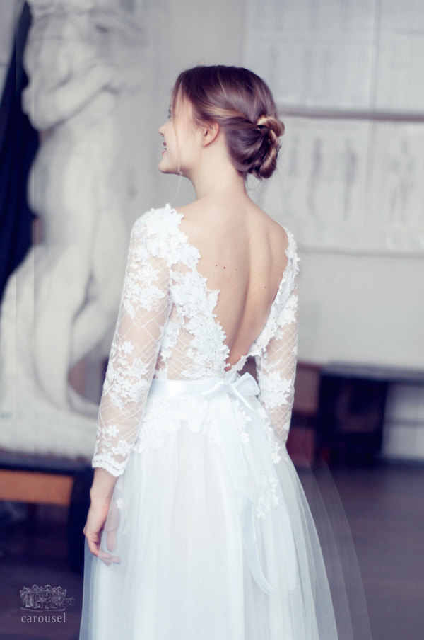 Etsy Find Of The Week: The Gorgeous $800 Wedding Dress – Loverly