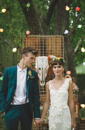 A Mexican Themed Wedding From She Designs Loverly