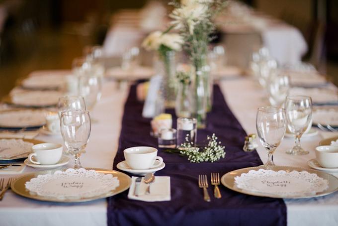 Romantic Handmade Purple Wedding – Loverly
