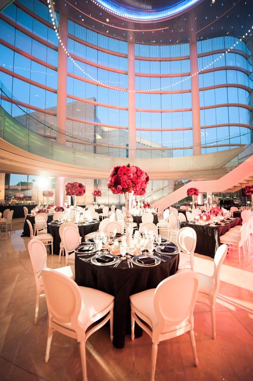 Modern Elegant Pink And Black Wedding Loverly